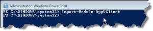 Import-Module AppVClient